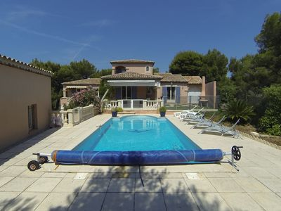 Photo for PROVENCAL VILLA WITH SWIMMING POOL 500M CALANQUE DE LA REDONNE