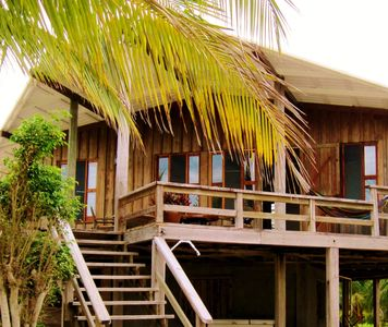 Photo for Placencia Beach House SUMMER RATES 40% off May 15-Nov 15.  Beachfront