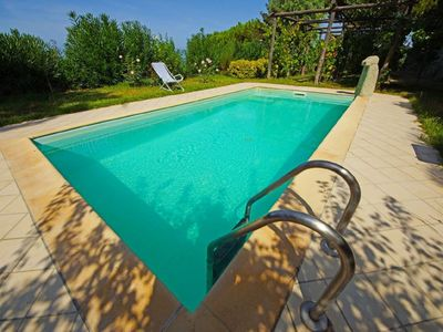 Photo for Il MIRTO- Il Gelsomino - Independent Bicamere. Pool and garden.