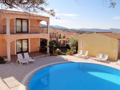 Photo for One bedroom Apartment, sleeps 4 in Badesi with Air Con and WiFi