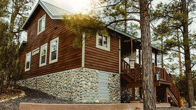 Photo for Breathtaking Cabin located in the heart of Heber-Overgaard, AZ.