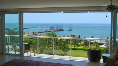 Photo for ** BEST LAYOUT ** HUGE BALCONY ** Cancun Oceanfront Condo