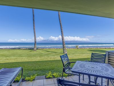 Photo for Oceanfront Year Round Stunning Sunset Views at Papakea