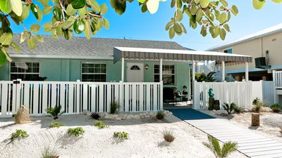 Photo for Gulf Winds - a completely remodeled cozy cottage - pet friendly
