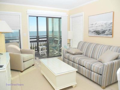 Photo for Tilghman Beach and Racquet Club Unit: 221! Oceanfront 3 Bedroom Condo. Book now for best rates!