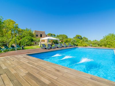 Photo for SOM COMTE II - Villa with private pool in Manacor.