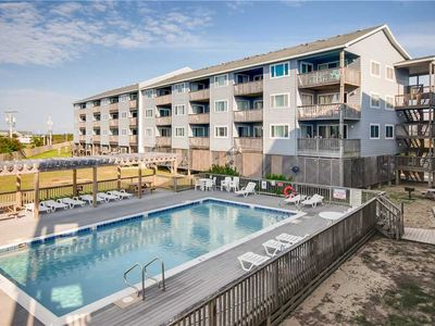 Ideal for Couples! Semi-Oceanfront Condo w/Resort Pool, Boardwalk to Beach, WiFi