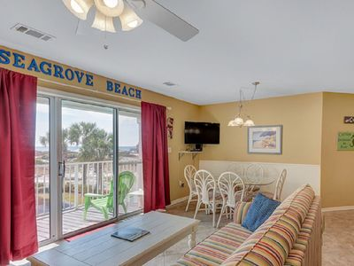 Photo for 3BR/2.5BA Condo, just 100 yards from the sugary white sands of Seagrove Beach