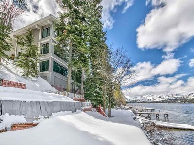 Photo for Lakefront Retreat with Epic Donner Views