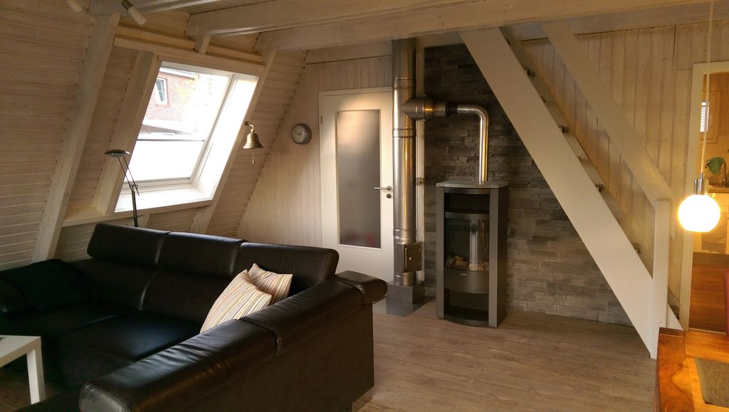 Only roof house \'Murmel 1 am Deich\', fireplace, free ... - 2063346