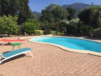 Photo for Villa LA ROCANYA classified 4 * Pool Air-conditioned Rooms view on Albères