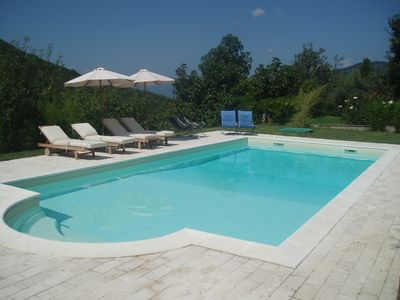 Photo for Beautiful Villa with private pool in unspoilt Tuscany