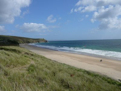 Photo for Holiday cottage on a beautiful Cornish beach