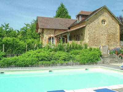 Photo for Beautiful restored farmhouse overlooking a valley with two castles.
