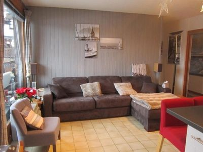 Photo for APARTMENT FOR RENT LES GETS - THREE PIECES - 6 PEOPLE - 200 M SHOPS AND POOL - WIFI - TERRACE SOUTH - 1 GARAGE
