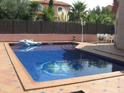 Photo for Design villa with pool