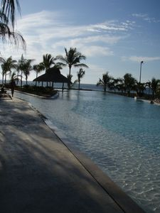 Partial view of pool