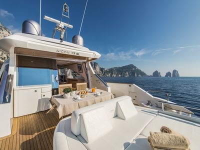 Photo for Capasecca Luxury Yacht Aicon 72SL