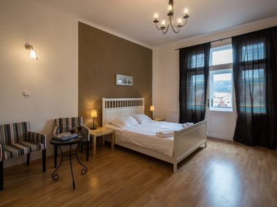 Photo for Cosy Apartment with Balcony and View