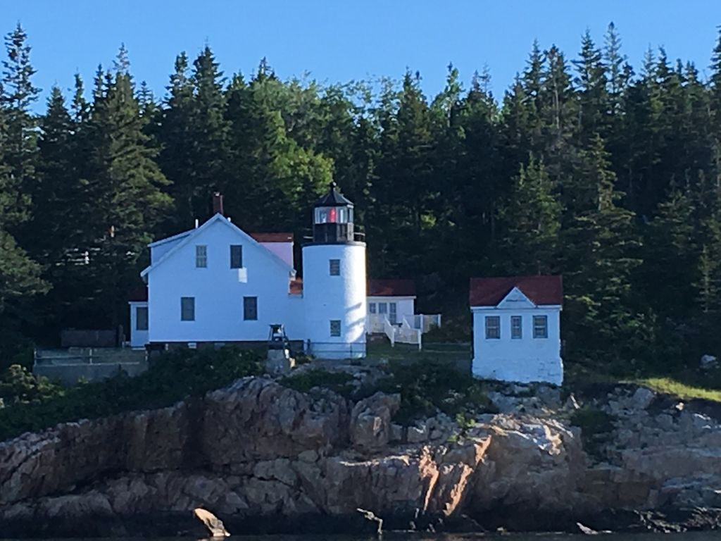 Lighthouse Cottage Borders Acadia National Park