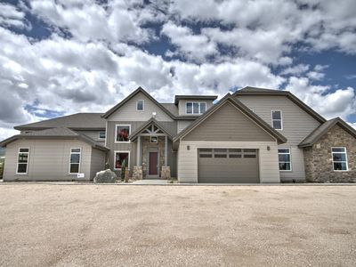 Photo for Waterdance Entire Home - Sleeps 110. Stunning New Home with Outdoor Pool