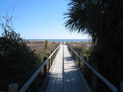 Photo for Ocean Breeze # 52~ ARCADE!  3BR/3BA ,Walk to Beach,Pool,Coligny, Steps to Pool