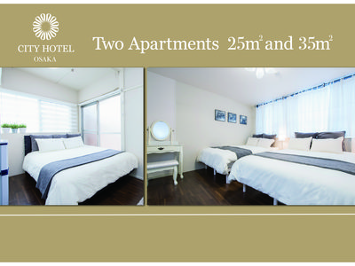Photo for Two Apart lent Close to Sta, 4min NAMBA