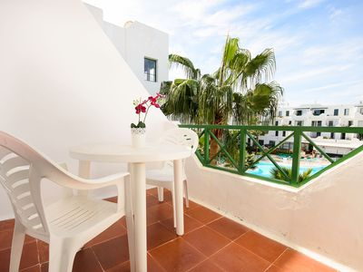 Photo for Perfect Location with Ocean View and Pool Access in Puerto del Carmen