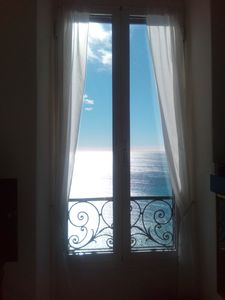 Photo for Grimaldi Superiore (IM) apartment 4 beds with wonderful sea view