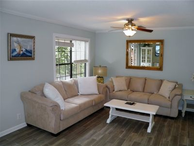 Photo for BEAUTIFUL SOUTH END TOWNHOME ON OCEAN BLVD 1 BLOCK FROM THE BEACH