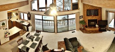 Photo for LOCATION, LOCATION GOLF, SKI, POOLS & TRAILS STEPS FROM YOUR FRONT DOOR