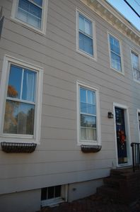 Photo for Your perfect Downtown Annapolis Getaway! 2 blocks from Gate 3 of the US Naval Academy and 1 block from St. Johns College.