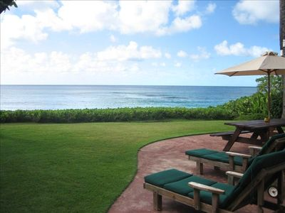 Direct Beachfront Property Overlooking the Pacific Ocean at Sunset Beach, Hawaii