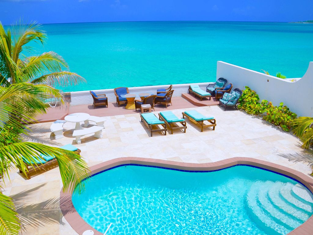 Oceanfront Luxury Home Private Pool And Sandy Beach Bahamas Central Location Homeaway