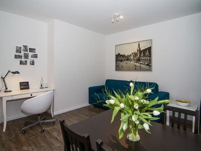 Photo for Stylish apartment at Clara Park 15 minutes walk from the centre. Best equipped!