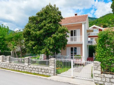 Photo for Charming seafront villa Magnolia, 4 * in Bijela, Bay of Kotor / 6 guests