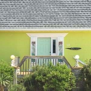 Photo for 3-bedroom, 2 1/2 Bath, A/C, Sleeps Up to 8 (10 houses from beach!)