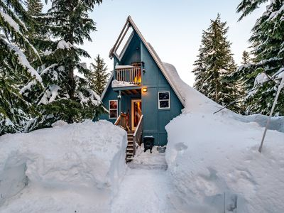 Summit at Snoqualmie A-frame Cabin at Summit Central
