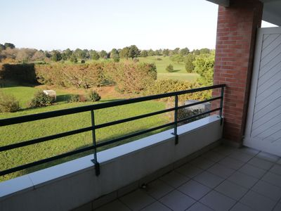 Photo for T2 with terrace southwest view golf private parking all on foot