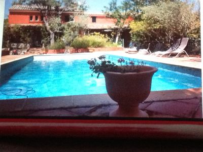 Photo for Beautiful bastide quiet, comfortable, with large private pool, sleeps 12.