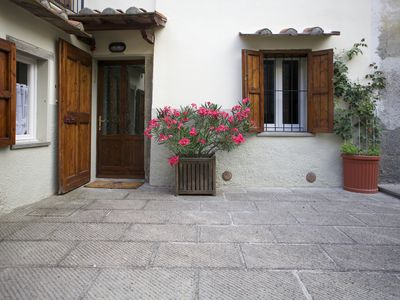Photo for Holiday home Old Town Castiglione Fiorentino in picturesque alley.