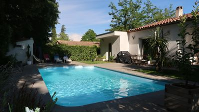 Photo for House 120 m2 with pool and beautiful view of the forest