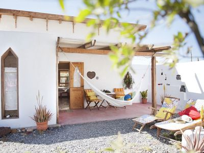 Photo for Canarian Duplex in Finca, 4 km from the beach and village