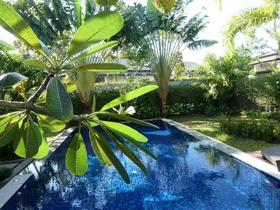 Photo for Luxury Jade villa with big tropical pool in Laguna / Bang Tao area