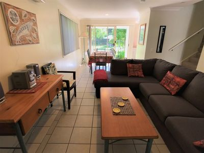 Photo for This spacious modern townhouse is located just 2kms from Byron CBD