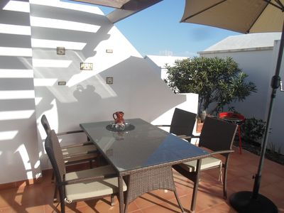 Photo for Bungalow Sol Valor in Playa Honda at the beach