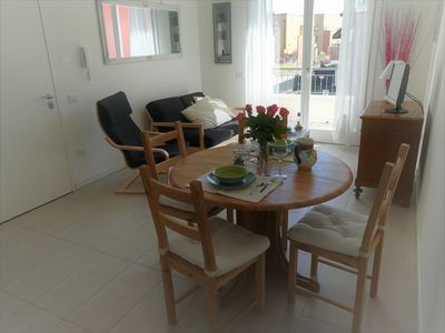 Photo for 10 minutes walk to the sea. Apartment with barbercue ideal for couples / families