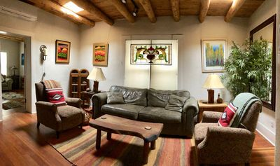 Photo for JULY OPENINGS - Casa Cody - Historic Adobe on the East Side near Canyon Rd