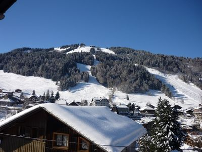 Photo for MORZINE APARTMENT STANDING EXCEPTIONAL VIEW 6/8 people