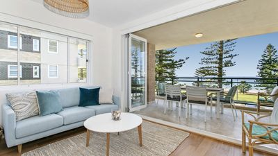 Photo for **Breath-taking Ocean Front -  Beach Apartment**